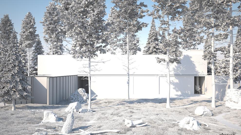 Casa de Campo sin Texturas
