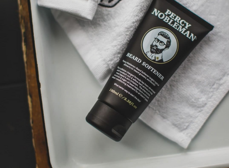 new in: beard softener
