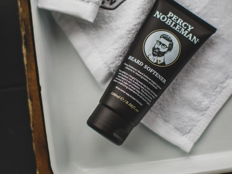 new in: Percy Nobleman beard softener