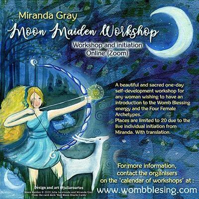 Moon Maiden Workshop 19. Juni 2021 / 19th june 2021