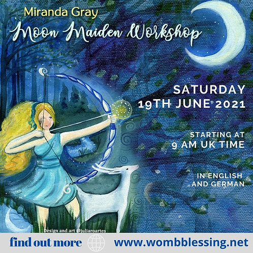 Moon Maiden Workshop 19. Juni 2021 / 19th june 2021
