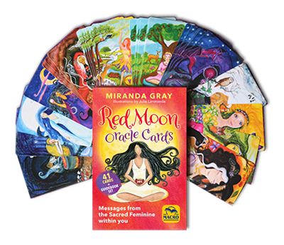 Red Moon Oracle Workshop - 13. Juni 2021 / 13th June 2021