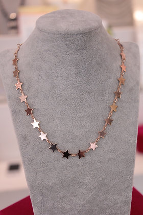 """Girocollo argento """"full of stars"""""""