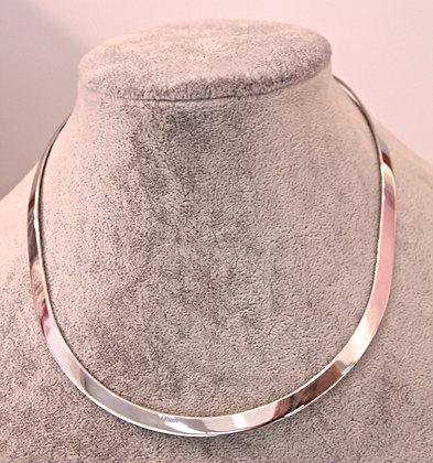 Girocollo argento 925 rigido