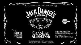 Jack Daniels reading stills
