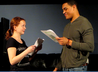 Private Moments play staged reading images