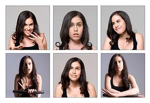 Daphne Macy headshot collage