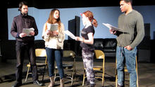"Performance Stills from Reading of ""Private Moments"", Written by Daphne, Are Now Up!"