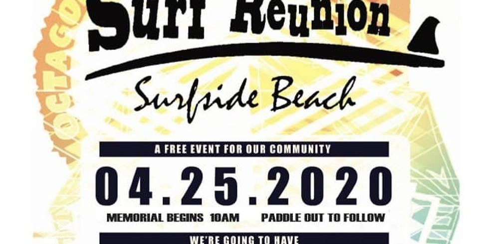 Old Guys Surf Reunion @ Surfside Beach  Carleton Host