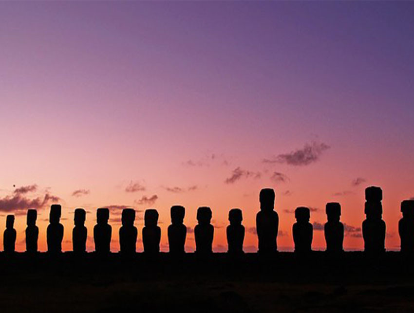 Visit Chile & Easter Island - spectacular natural sights, city culture sunset