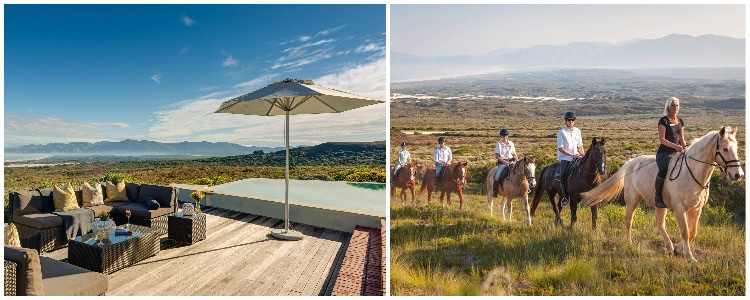 Family travel in South Africa - nature walks and horseback riding