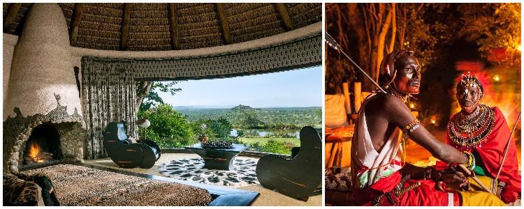 enya's Ol Jogi, a private bush retreat for an African getaway