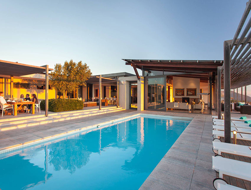 Custom luxury vacation with hotel and pool