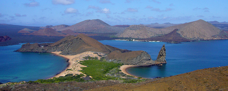 Galapagos Islands beautiful adventure travel - North Seymour Island, Bartolomé Island