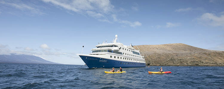 Galapagos Islands vacation - luxury expedition ships, Santa Cruz II