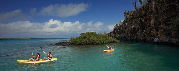 Galapagos Islands - Santa Cruz kayaking adventure travel