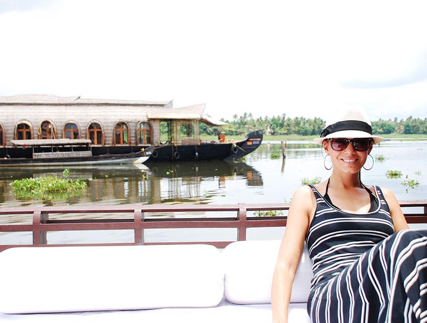 Yoga atop the Taj Lake Palace in Udaipur, India, viewing tigers in Bandavgarh and sailing the backwaters of Kerala