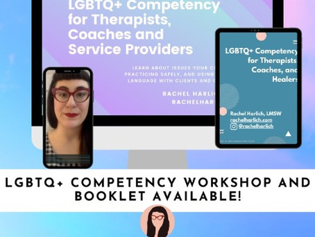What IS LGBTQIA+ Competent Therapy?