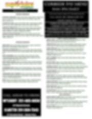 No Contact Curbside Menu 7day weekpage 1