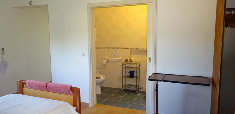 Ensuite door and room entrance