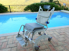 Our tilting shower chair