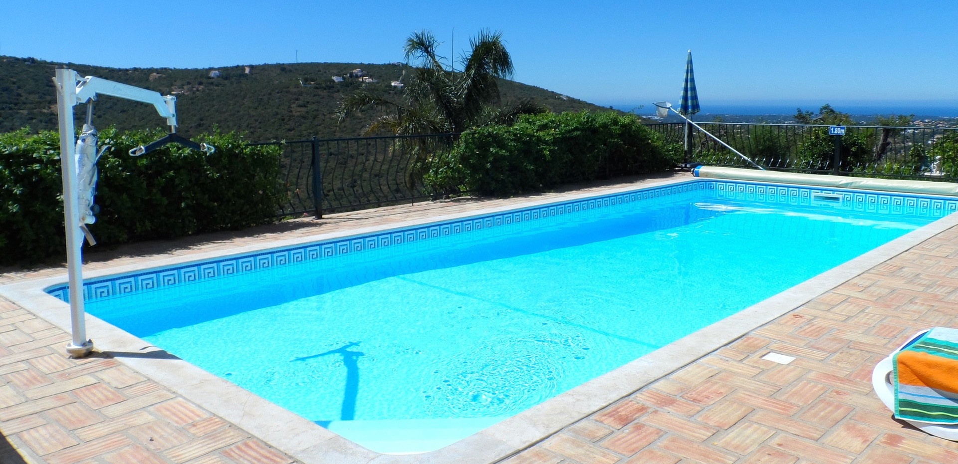 The 10x4 metre accessible pool