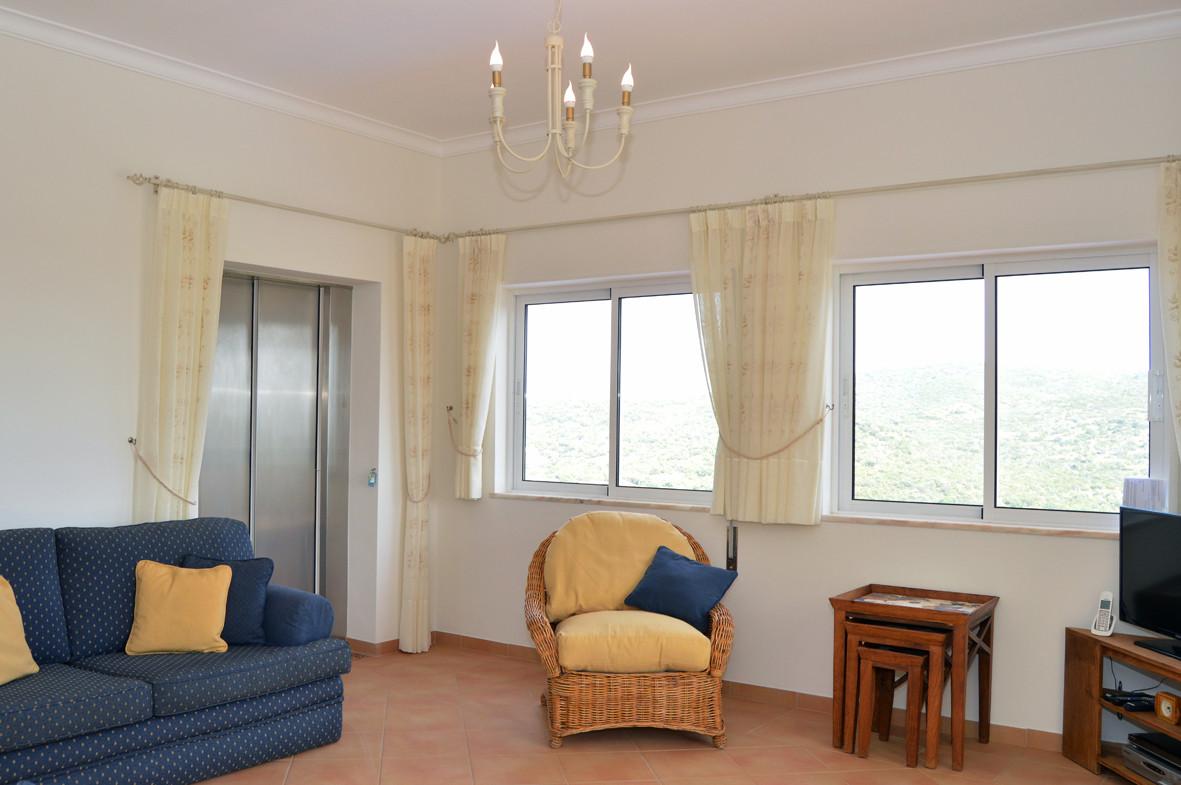Living room - lift door