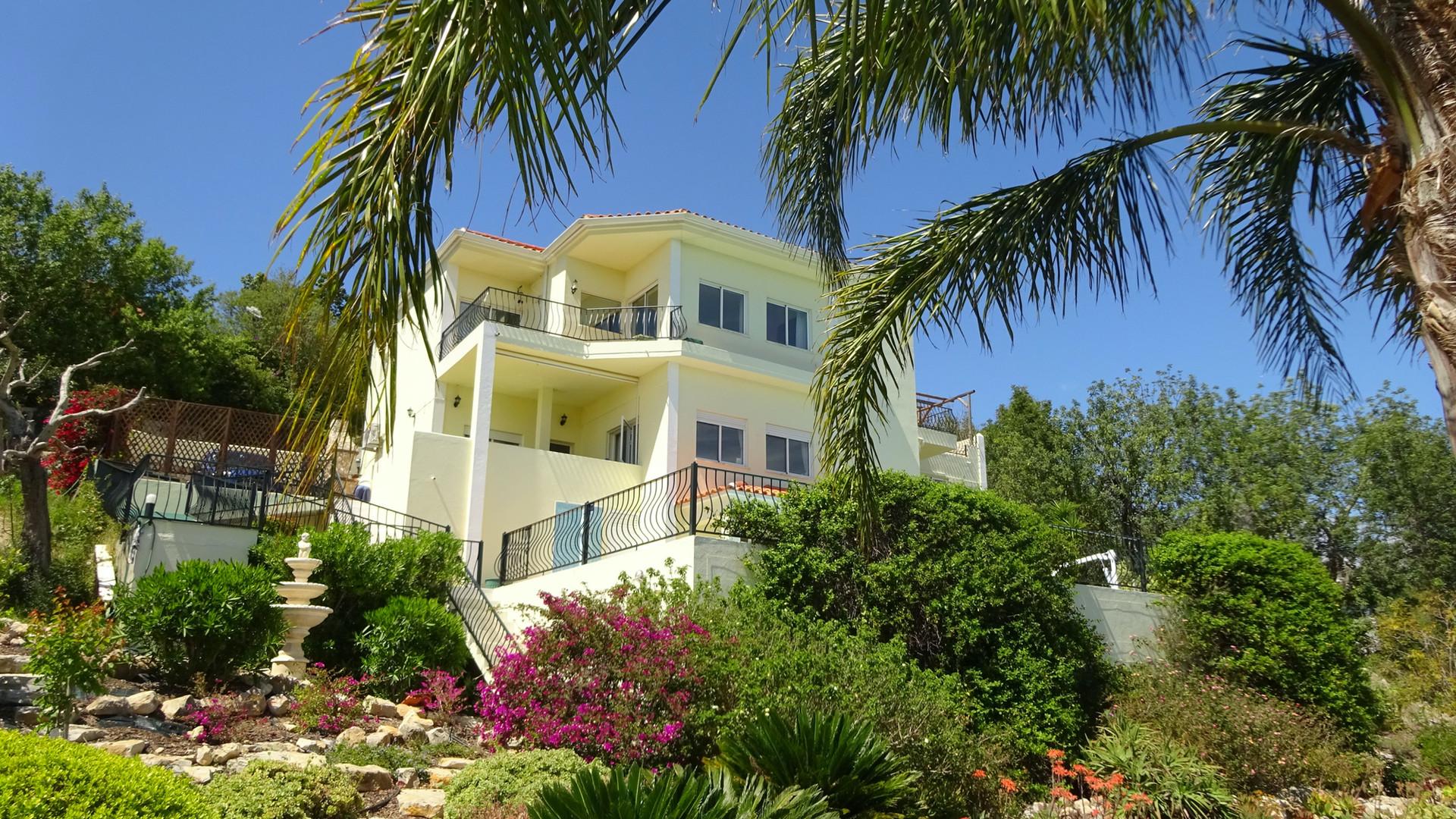 Villa from tarrace
