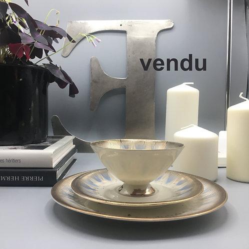 Set tasse à thé/assiette à dessert