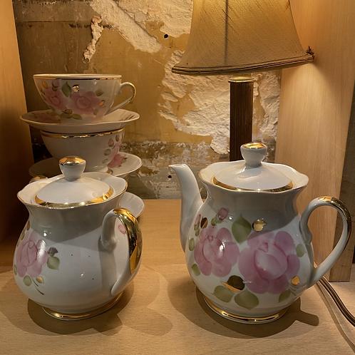 Service à thé ukrainien période soviétique