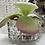 Thumbnail: Vase, cache-pot, abat-jour en verre moulé années 50