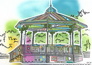 Queens Park Band Stand