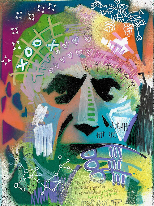 Pablo Picasso- Original Art A5