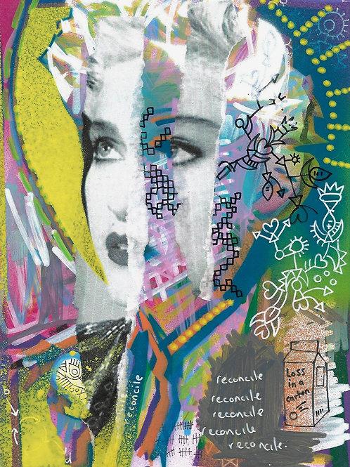 Madonna- Original Art A5