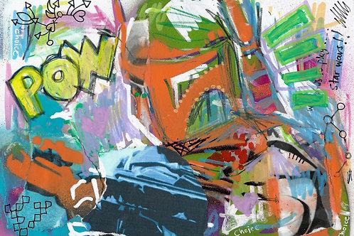 Boba Fett (Star Wars)- Original Art A5