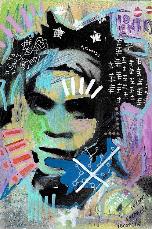 Jean-Michel Basquiat- Original Art A5