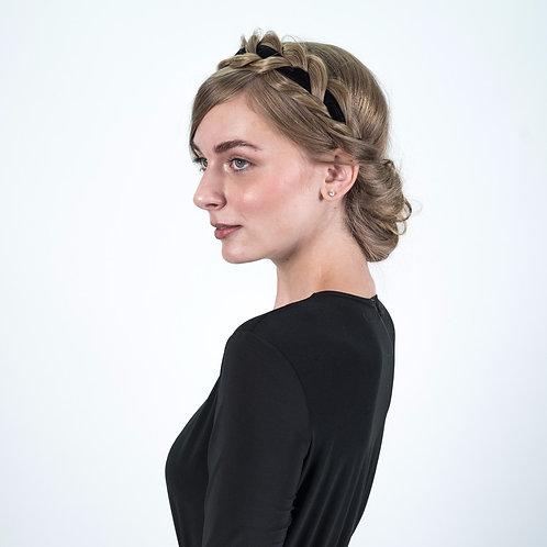 Velvet Loose Crown Braid