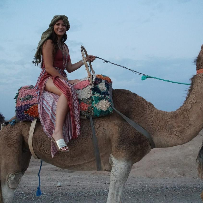 A night in the Agafay Desert (Morocco)