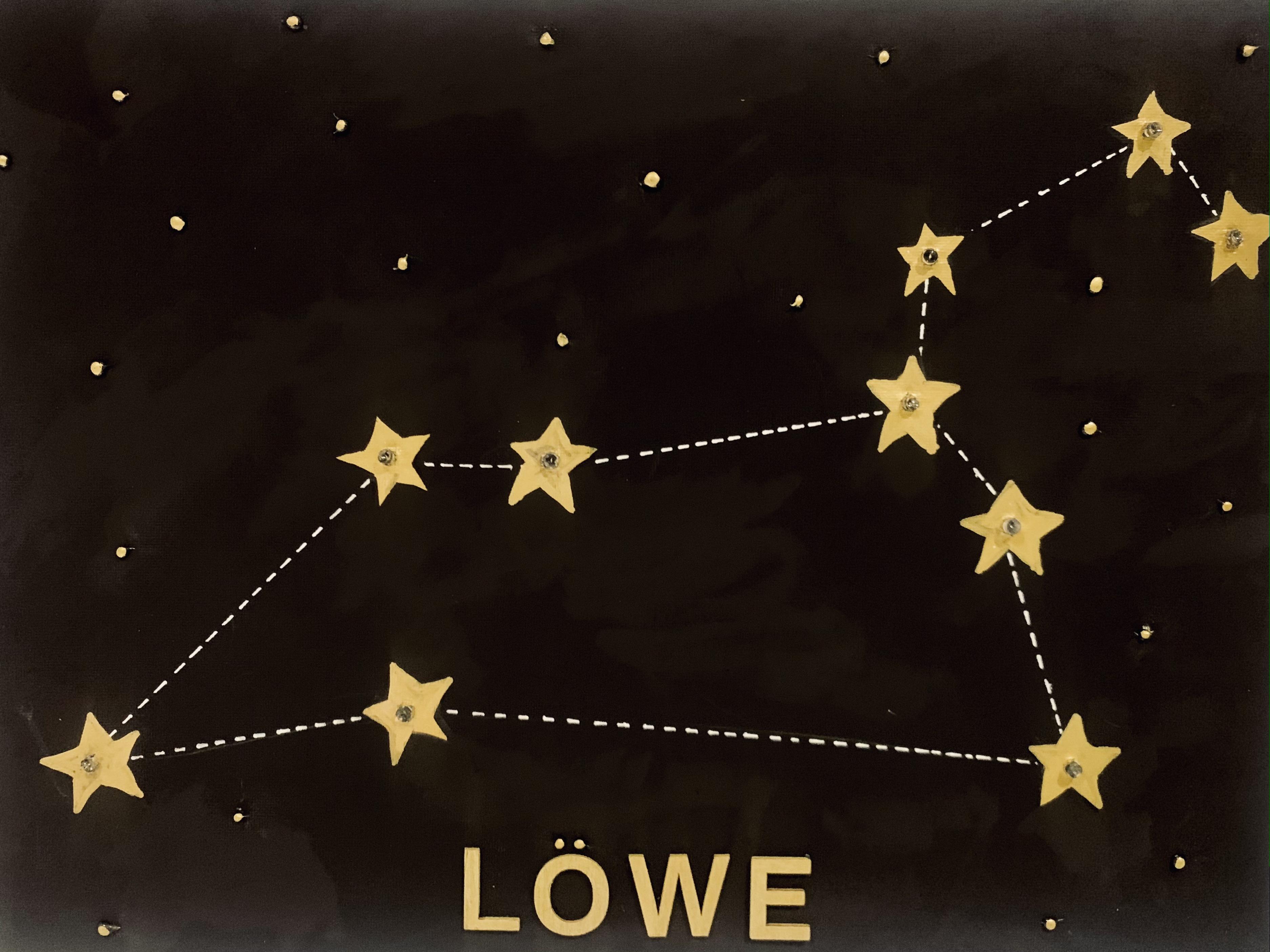 Leinwand Sternzeichen