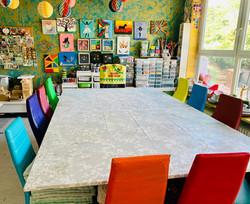 Tisch für bis zu 10 Kinder