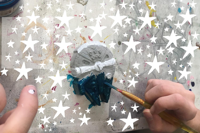 kreative Hände