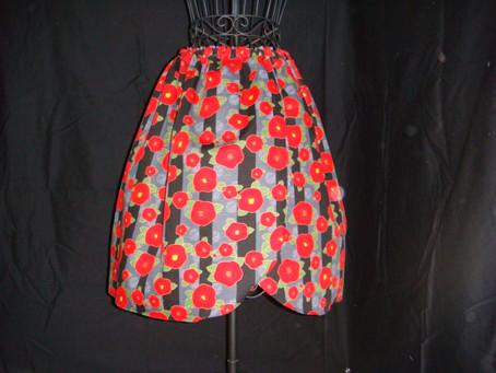 受診用スカートの新作・・・など