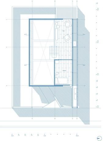 35_Casa Lautaro_Planta Primer Nivel_azul