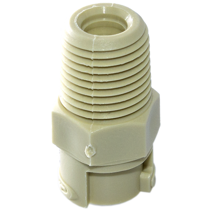 ACD outlet fitting for calibration gas generator