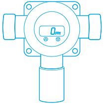 calibrate fixed gas monitor