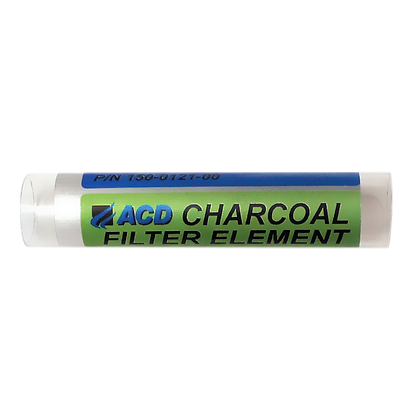 ACD charcoal filter element for calibration gas generators