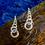 Thumbnail: chunky link drop earrings