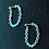Thumbnail: chain hoop studs