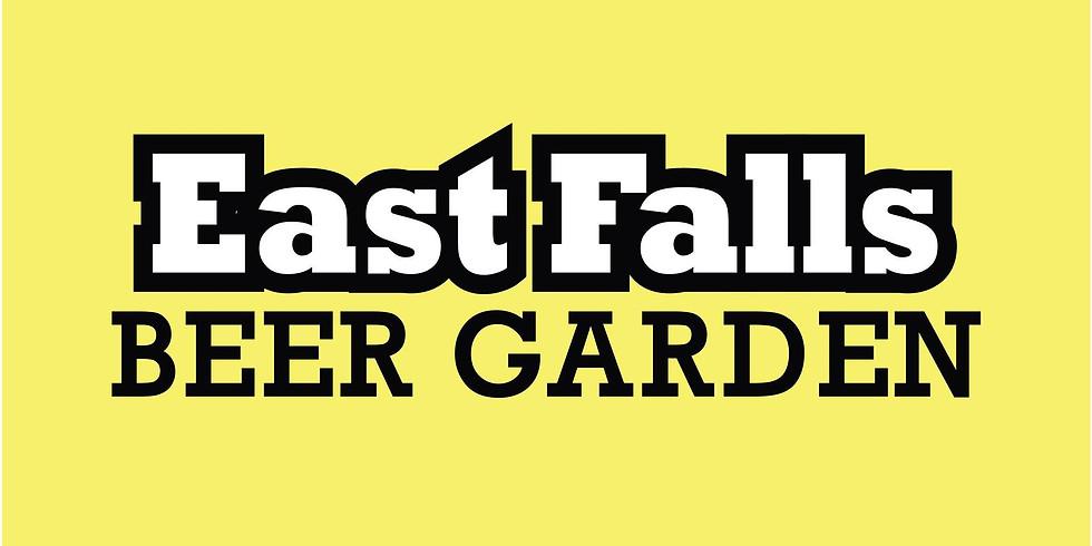 east falls beer garden market