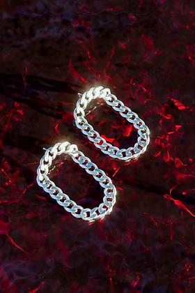 big daddy link earrings